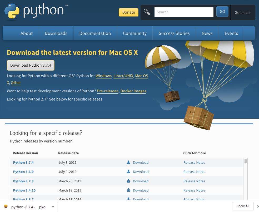 How to Update Python 3 6 to Python 3 7 on Mac OS | Jun711 blog