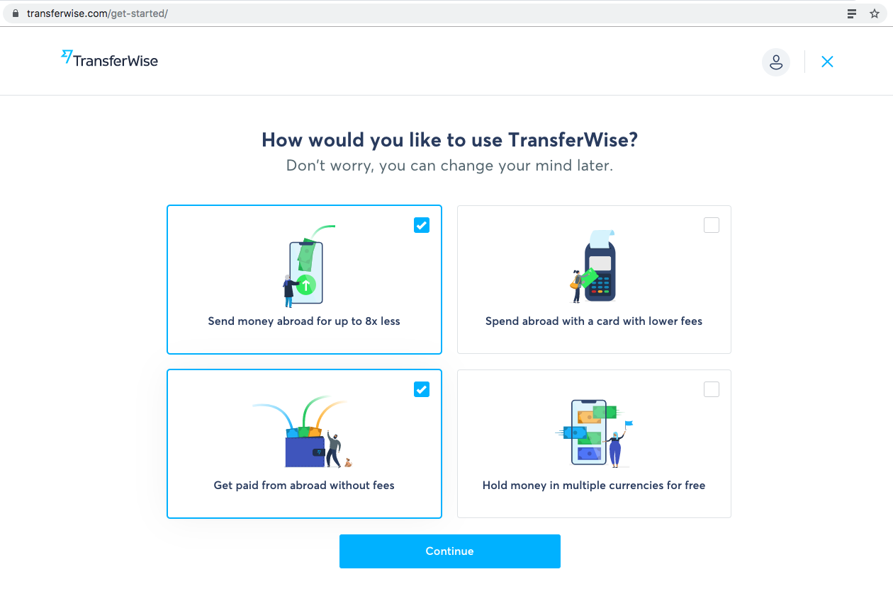 TransferWise Usage Survey