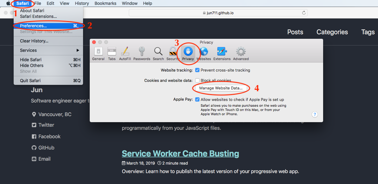 How to force update a service worker on Chrome, Firefox and